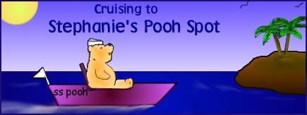 Cruising to Stephanie's Pooh Spot